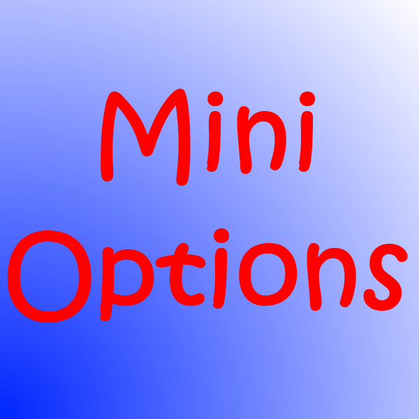Mini options strategies